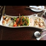 Seafood trio special