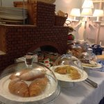 Buffet Breakfast  - selection of cakes/cereals/fruit/toast/bread/jam/coffees/teas/yoghurts/etc!