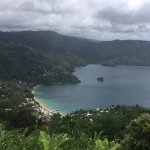 View over looking Charlotteville
