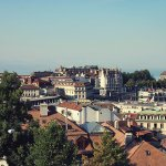 Lausanne from the Tower
