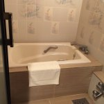 Ryokan room is spacious - like a 2 bedroom apartment with private hot spring bath, 2 Japanese be