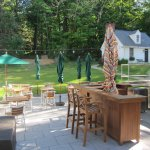 Outdoor BBQ, Bar and Dining Patio