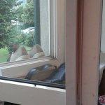 fenêtre sale