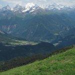 Aussicht vom / View from Piz Scalottas