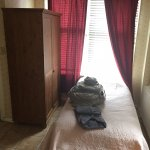 Single bed in 2nd room of Room 15