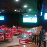 Duesy's sportsbar big screen