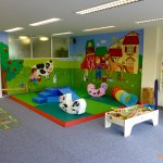 New for 2016 indoor soft play area