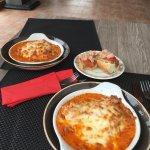 exquisita lasagna !!
