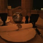 Dinner at the onset of Monsoons at the Palace