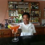 some of the wonderful setttings and bar tender
