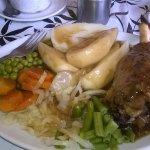 Lamb Shank plus vegetables