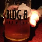 A deliciious pint of Building 8!
