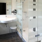 Badezimmer 2-Raum-Apartment