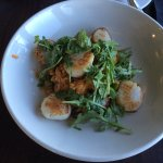 Scallops with lobster risotto
