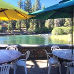 Summertime Patio Bar & BBQ Grill on the River