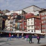 La Ribeira,zona de restaurantes junto al Duero!
