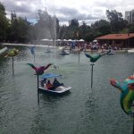 Zona de Embarque - Laguna el Quinde