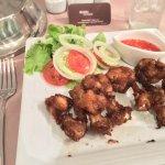 """Their """"Best"""" Thai Style Chicken Wing."""