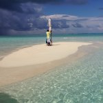 Hassan arranged private sandbank trip