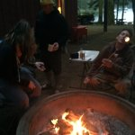 Fire-rings outside cabins...bring marshmallows and FIREWOOD!
