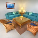 Ocean Front Family Suite Living Room