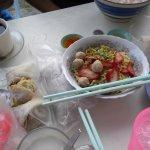 "Chinese noodles ""Kam pua"""