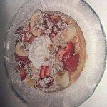 Awesome Strawberry Banana Walnut Waffle