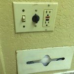 Controls on wall