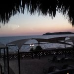 puesta del sol en Sea of Cortez Beach Club