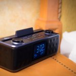 Bluetooth enabled clock radio in select suites