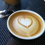 Ginormous mug of cappuccino!
