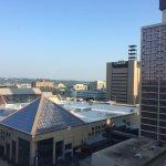 12th floor overlooking downtown