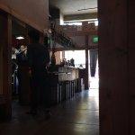 Front entry sake bar.