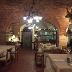 Ein Blick ins urige Restaurant