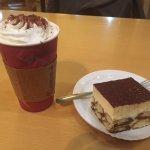 Vanilla Latte and Tiramisu