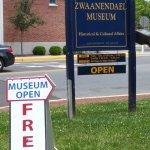 Zwaanendael Museum entry signs