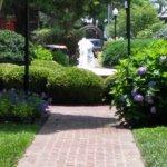 Zwaanendael Park fountain