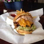This is the yummy KALF burger!