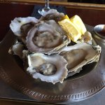 My first dozen oysters they were great and all you can eat