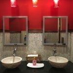 Immaculate modern bathroom facilities