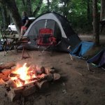 Best quiet peaceful riverside camping you will find near Tremont. From primitive campsites to ca