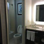 Bathroom area of king size bedroom 1