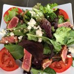blackened ahi salad