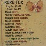 Burritos June 2016
