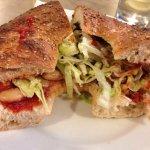 Amazing ftira Sandwich!