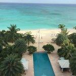 View from 6th floor ocean view villa