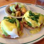 California Eggs Benedict