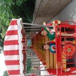 Riding the Zoo Train!
