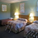 Six 3-bed rooms for large groups