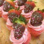 Strawberry Cupcakes!